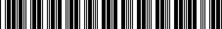Barcode for A121G6000F